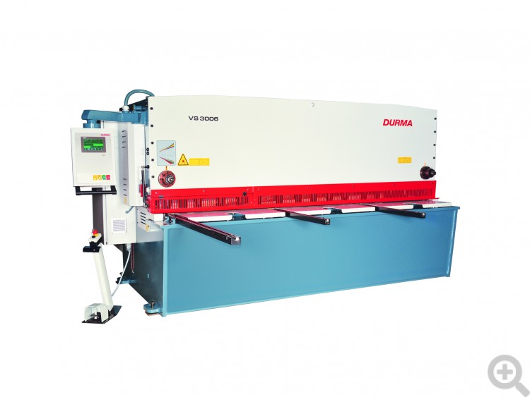 VS Variable Rake Guillotine Shear